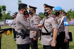Dua Kasat dan Lima Kapolsek di Polres Aceh Utara Diganti