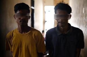 Dua Pemuda Aceh Utara Ditangkap Karena Jual Beli Chip Higgs Domino