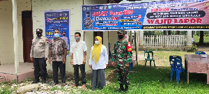 Kecamatan Langkahan Sudah Bentuk 8 Posko PPKM Mikro