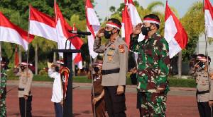 Apel Kebangsaan Dalam Rangka Menjaga Keutuhan NKRI Digelar Di Polda Aceh