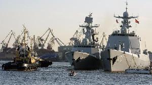 China Siap Utus Kapal Perang ke Teluk Meksiko