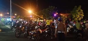 Balap Liar di Banda Aceh Ditertipkan, 30 Kenderaan Disita