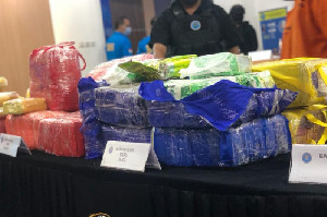 Bea Cukai dan BNN Amankan 80 Kilogram Sabu Asal Thailand di Aceh Timur