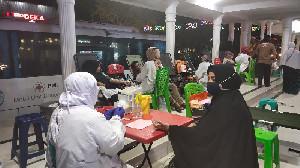 Antisipasi Kekurangan Darah, Mobil Unit PMI Langsa Giat Donor Darah Tiap Malam