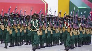 Tentara Myanmar Terpaksa Kejam Supaya Keluarga Aman