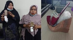 Bawa 1,3 Kilogram Sabu, Dua Wanita Aceh Ditangkap di Bandara Kualanamu
