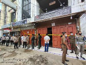 Aparat Berwenang Segel Cafe New Soho Banda Aceh akibat Konser di Malam Ramadhan