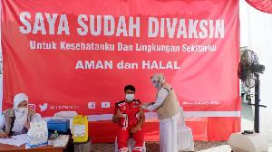 Cegah Penyebaran Virus Corona, 131 Staf Hutama Karya di Aceh Divaksinasi