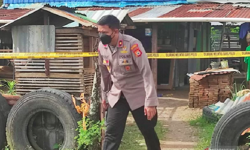 Terduga Teroris Serang Polisi dengan Parang Ditembak Mati