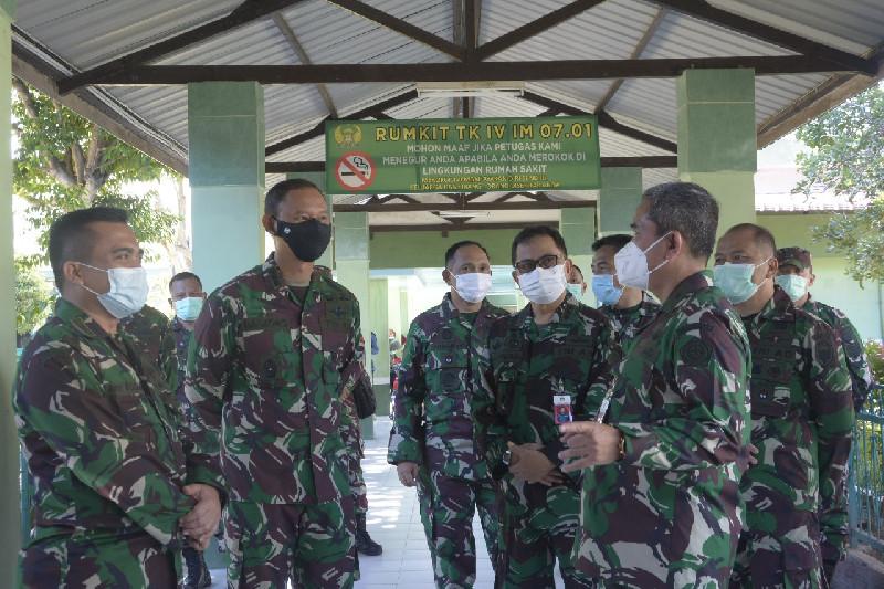 Kemhan RI Kunjungi RS TNI-AD Kesrem Lhokseumawe