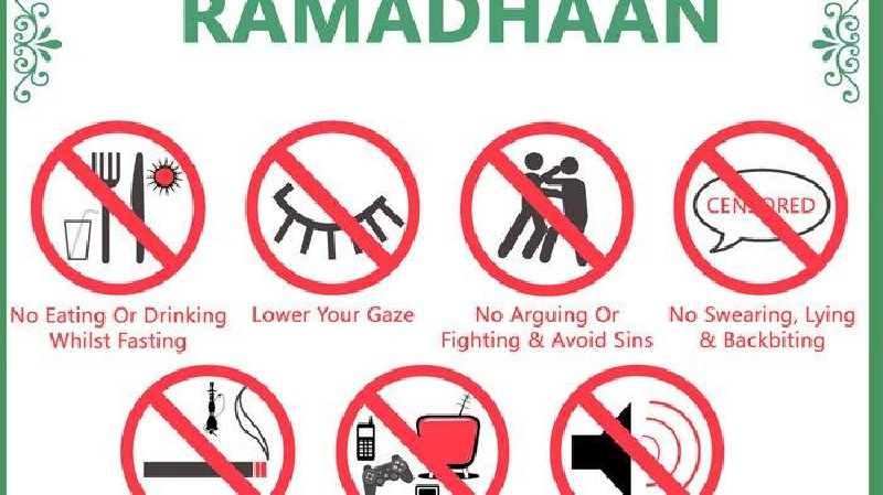 Hukum, Sunnah Dan Yang Membatalkan Saat Puasa Ramadhan