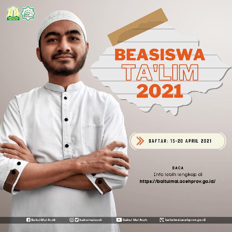 Segera Daftar, BMA Buka Pendaftaran Dua Jenis Beasiswa Hingga 20 April 2021