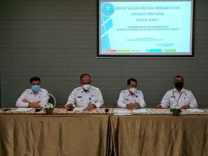 Raker BNNP Aceh: Tangani Masalah Narkoba Harus Tegas