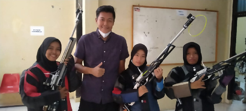 Hari Kedua Kejurda Menembak Aceh, Langsa Raih Lima Medali Perak dan Perunggu