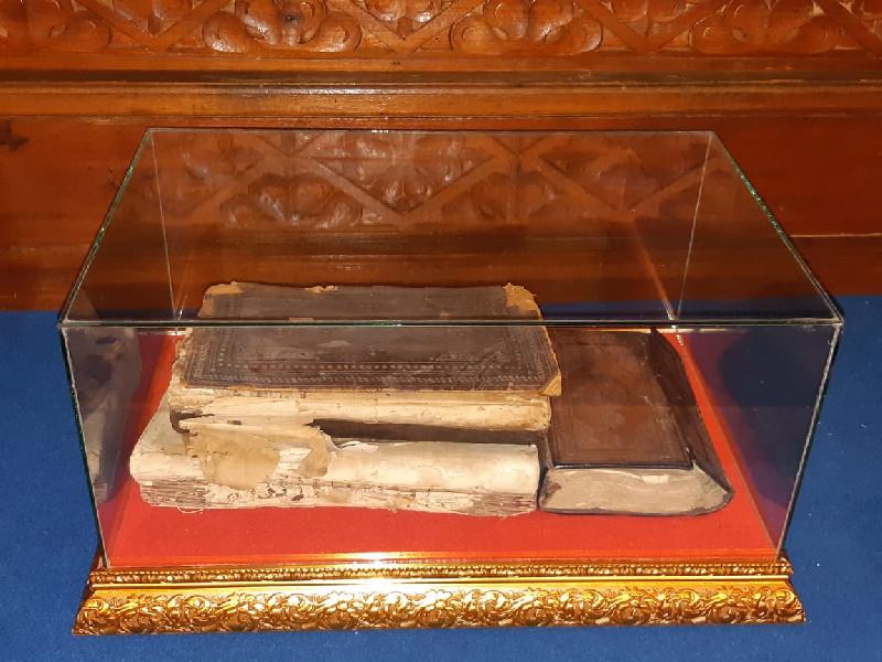 Berkunjung ke Museum Tun Sri Lanang, AHY Diperlihatkan Alquran Berusia Seribu Tahun