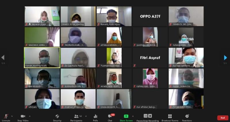 Adaptasi dengan Situasi Pandemi, Yayasan Aceh Hijau Gelar Pelatihan STBM