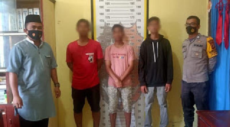 Lempari Bus Dengan Batu, Tiga Remaja Aceh Timur Ditangkap Polisi