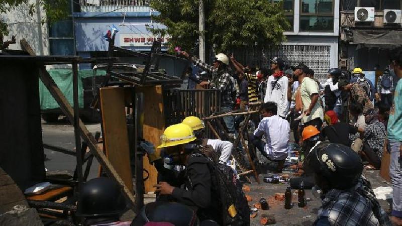 10 Polisi Myanmar Tewas Diserang Milisi Etnis