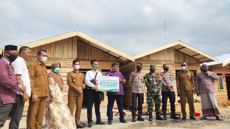 Sambut Puasa, 9 Rumah Korban Kebakaran Sungai Pauh Pusaka Resmi Diserahkan