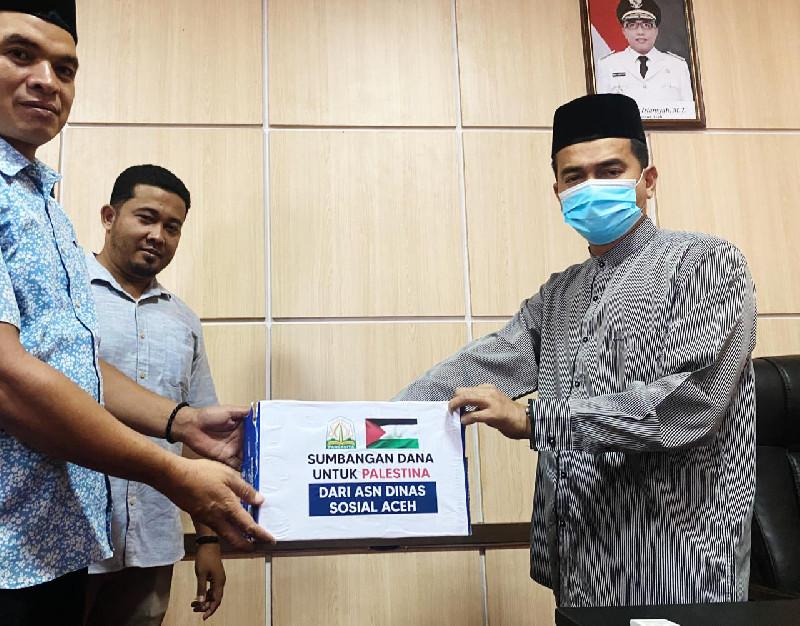 Dinsos Aceh Galang Dana Untuk Palestina