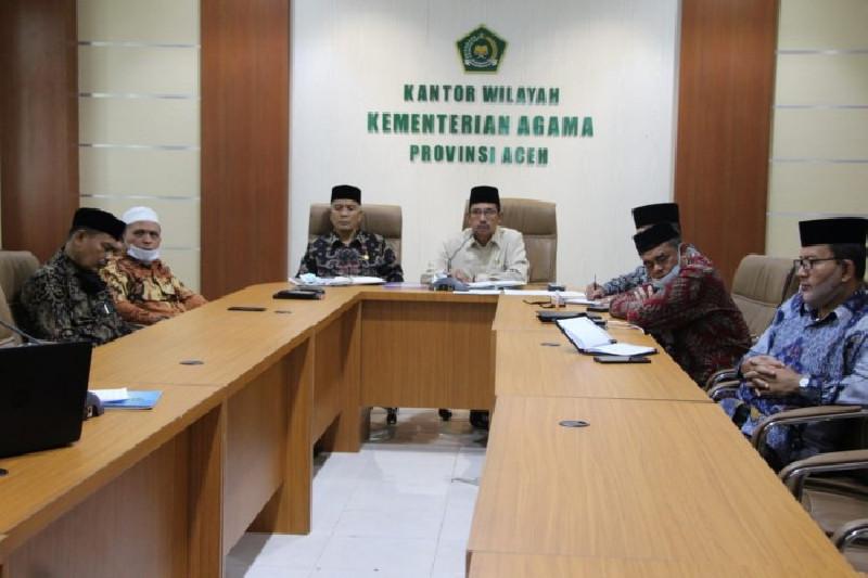 Kemenag Aceh: Perkuat Sosialisasi Prokes di Bulan Ramadan dan Idul Fitri