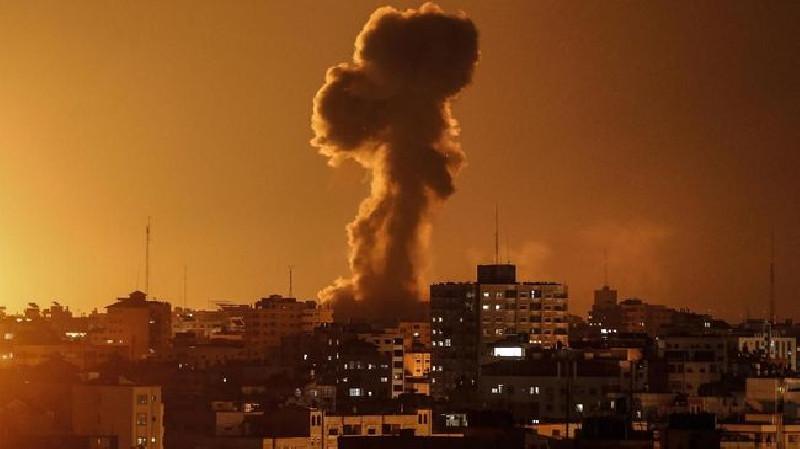 Hamas Tembak Roket ke Israel