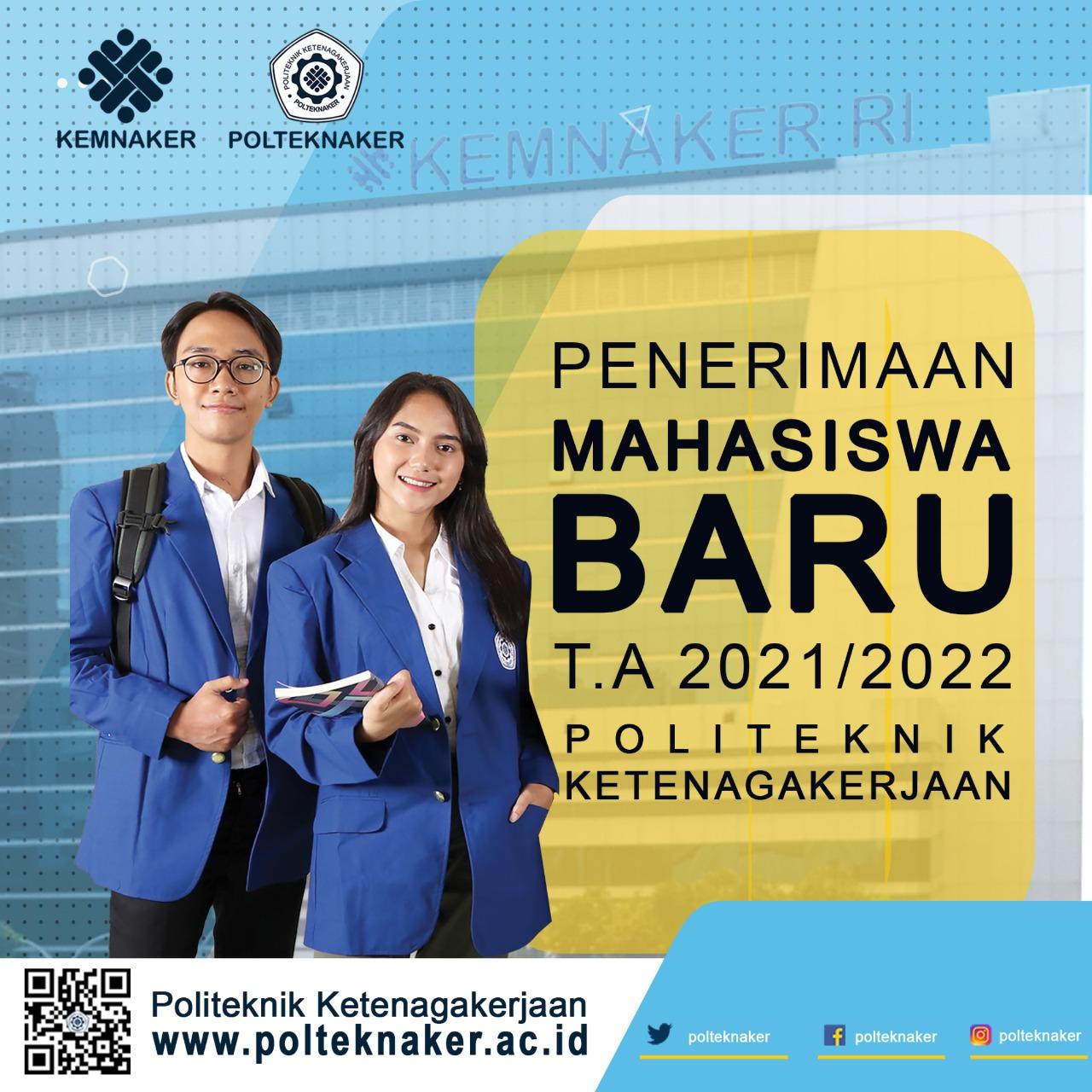 Gratis, Polteknaker Buka Penerimaan Mahasiswa Baru 2021/2022