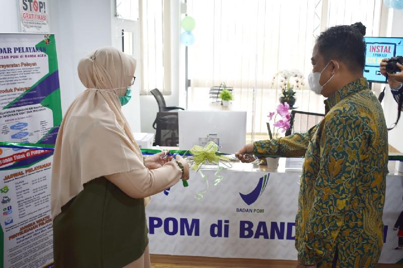 Layanan BBPOM Aceh Hadir di MPP Kota Banda Aceh