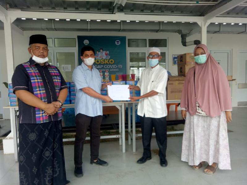 Bangun Sense of Crisis, DKP Aceh Antar Menu Berbuka Nakes RSUDZA