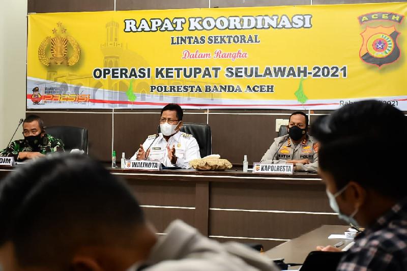 Aminullah Minta Operasi Ketupat Seulawah Fokus Kawal Warga Taat Prokes