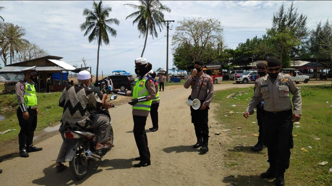 Polisi Batasi Jumlah Pengunjung di Tempat Wisata Seunuddon