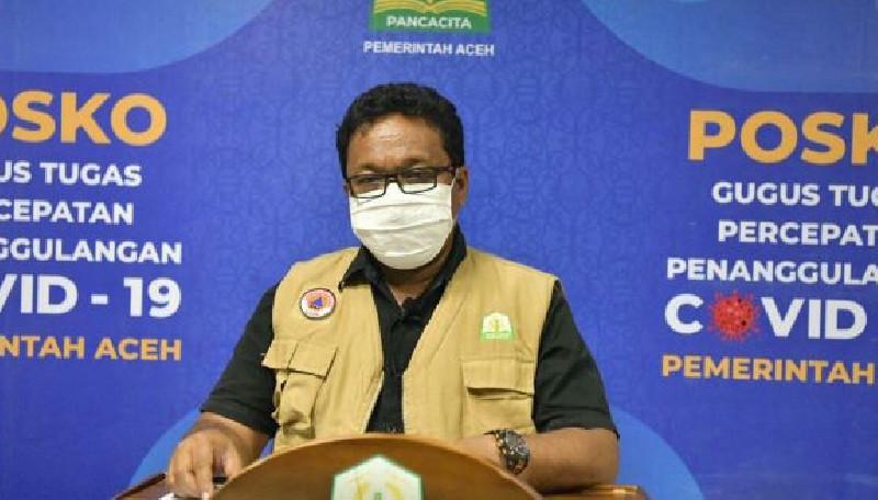 Kasus Covid-19 Aceh Bertambah 68 Orang, 53 Pasien Sembuh