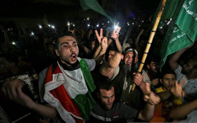 Polisi Israel Dan Warga Palestina Bentrok kembali