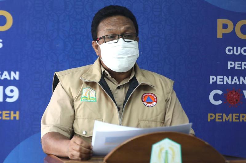 Pasien Covid-19 di Aceh Bertambah 107 Orang, 24 Dirawat di RICU