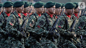 Prajurit AS Terkesan Usai Latihan Bersama Yonif TNI Tengkorak