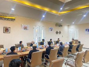 IKAMBA Fasilitasi HIMASENDRATASIK USK Bertemu Wali Kota Banda Aceh