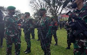 400 Prajurit TNI Dikirim ke Papua Buru Kelompok Separatis
