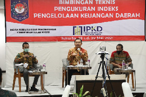 Badan Litbang Kemendagri Selenggarakan Bimbingan Teknis Pengukuran Indeks Pengelolaan Keuangan Daerah