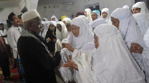 Jamaah Tarekat Naqsabandiyah di Sumut Lebaran Hari Ini