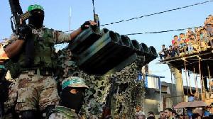 Hamas Gelar Parade Militer