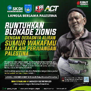 Mursyid: ACT Bersama Palestina