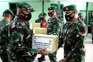 Dandim 0101/BS Berikan Paket Lebaran Kepada Prajurit