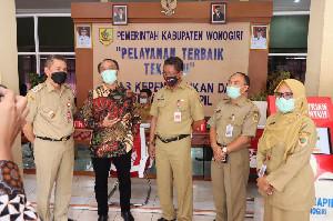 Dirjen Dukcapil Sidak di 12 Daerah Jabar, Jateng, DIY, Tegur Kadis Dukcapil Yang Lambat