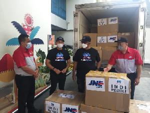 IMDI Gandeng JNE Salurkan Bantuan ke NTT