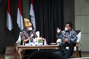Menparekraf Sandiaga Uno Dukung Pengembangan Wisata Halal Banda Aceh