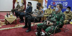 Jelang Hari Raya, Gubernur Aceh Ikut Rakor Penanganan Covid-19 Bersama Lintas Kementerian
