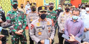 Kapolda Aceh Cek Pos Ops Ketupat Seulawah 2021 di Polres Lhokseumawe