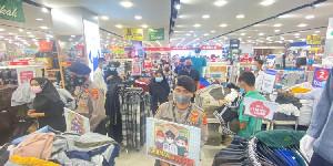 Polres Lhokseumawe Kembali Cek Penerapan Prokes di Pusat Perbelanjaan