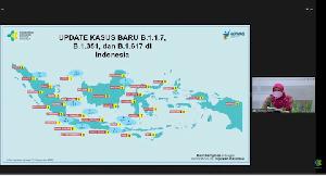 Virus Corona Varian Baru B.117, B.1351, B.1617 Sudah Ada di Indonesia