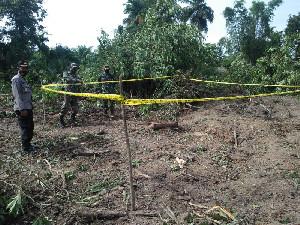 Warga Aceh Utara Temukan Benda Diduga Bom Rakitan
